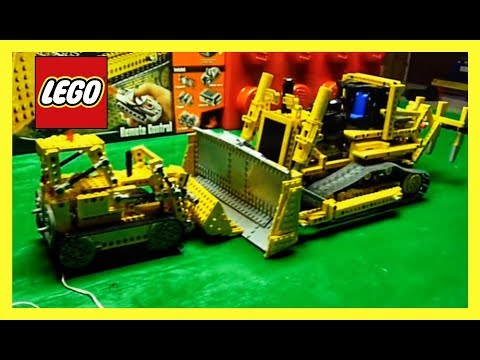 LEGO Bulldozer Battle Technic sets 856 and 8275 review OLD VS NEW