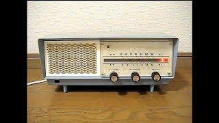 ナショナルの真空管ラジオ GX-240です。 発売は昭和37年、当時の定価は5...