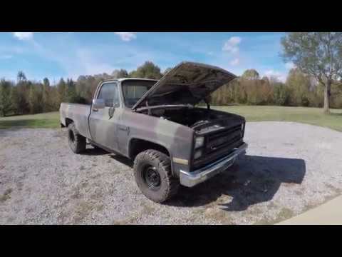 Let's mess with the '86 Chevy craigslist C20 some