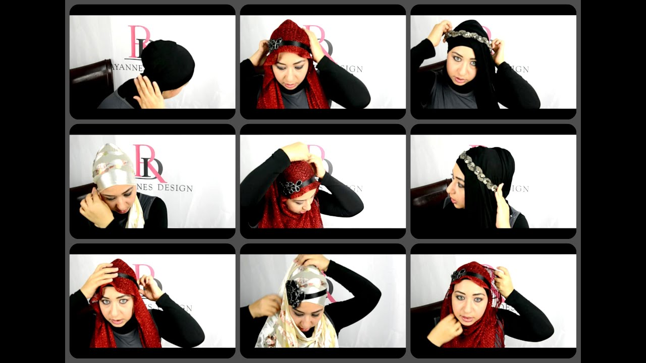 Hijab Style With Headband Aliexpress Com Buy Lj1 New Style Folds