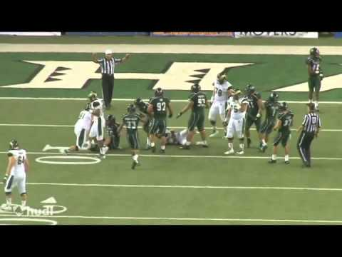 Daniel Masifilo CB #16 University of Hawaii 2013 Season Highlights