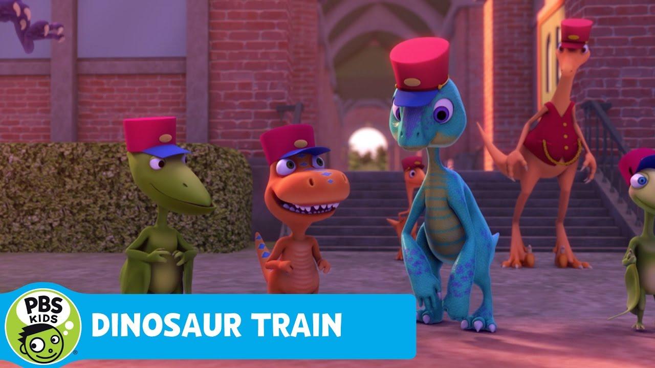 Dinosaur Train | Becoming Junior Conductors First Class ...