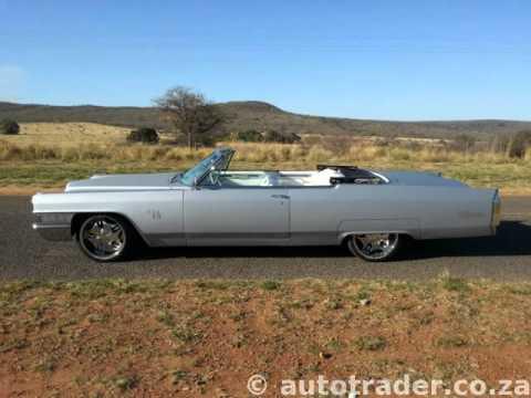 1964 Cadillac De Ville Convertable Auto For Sale On Auto Trader