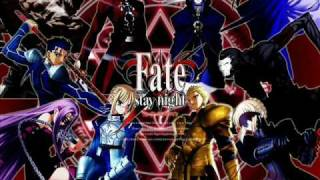 Fate Stay Night Opening 1 Disillusion - FULL
