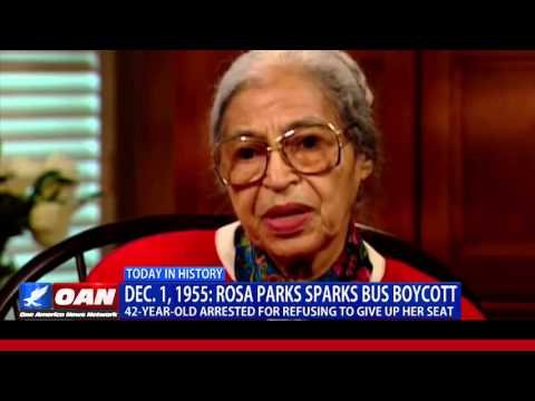 This Week in History: Rosa Parks Sparks Bus Boycott