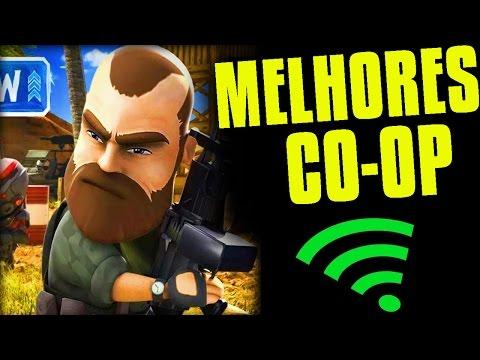 Os Melhores jogos CO-OP Multiplayer para CELULARES iOS & Android (Coop Multiplayer Games)