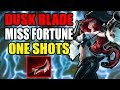 Miss Fortune Lethality Build OP ONE SHOTS!! | League of Legends | Lethality Rework | Kobe lol