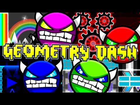 No Practice No Problem! 4 Geometry Dash Demons