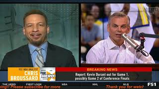 Download The Herd | Did Harden hurt his legacy by losing Warriors again? | Chris Broussard EXTREME SADNESS Mp3 and Videos