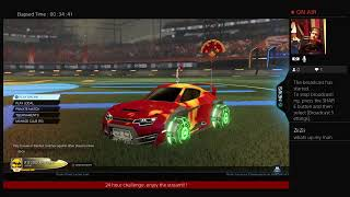 24 hour challenge ROCKET LEAGUE