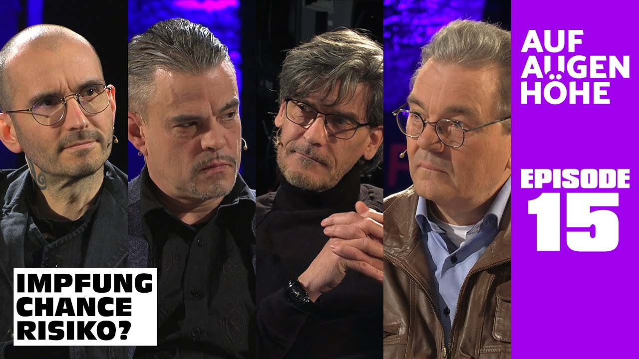 IMPFUNG – CHANCE – RISIKO? mit Mark Benecke, Dirk Sattelmaier, Hans Tolzin und Stefan Dellwo