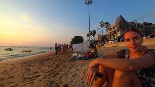 Как возят ДЕВУШЕК ЛЕГКОГО поведения по ПАТТАЙЕ. Инспектируем пляжи Джомтьен, Амбасадор, Таз Том Яма