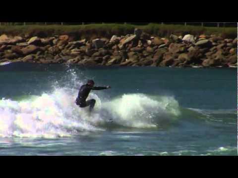 Glenn hall freesurfing in Europe