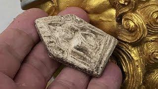 Ancient Khun Phaen Amulet 200 Years Old Wat Tap Khaw