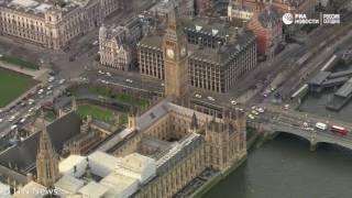 Теракт в Лондоне  эвакуация людей и исследование машины преступника