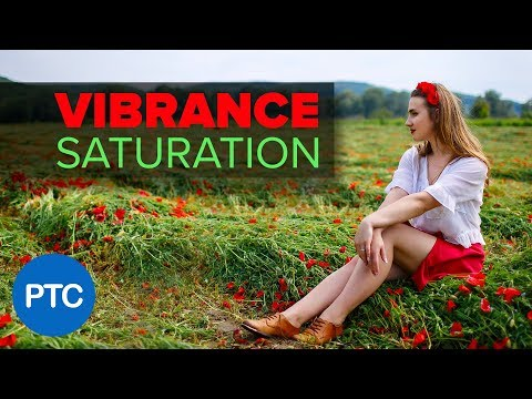 The DIFFERENCE Between Vibrance and Saturation in Photoshop - COLOR ENHANCING Photoshop Tutorial