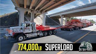 774,000 lb Transformer Superload