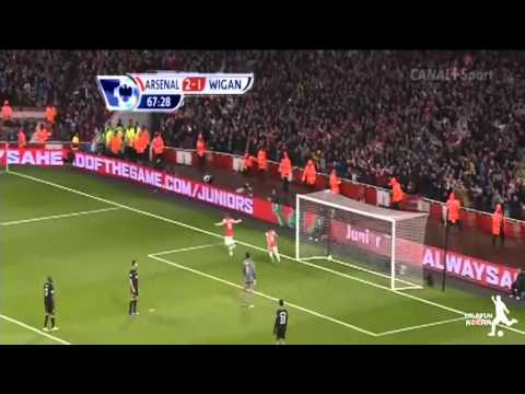 Arsenal vs Wigan Athletic 4-1 Highlights 14.5.2013