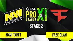 CS:GO - FaZe Clan vs. NAVI 1XBET [Train] Map 2 - ESL Pro League Season 11 - Stage 2