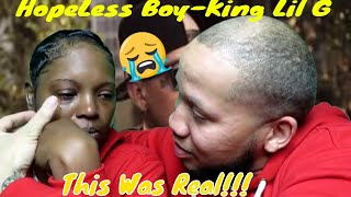 King Lil G - Hopeless Boy Reaction| This Song Was So Real My Wife Cries!!😭