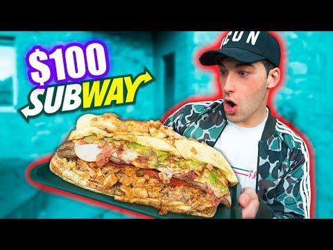 ME COMO UN BOCADILLO DE SUBWAY DE 100€ *10.000 calorias*