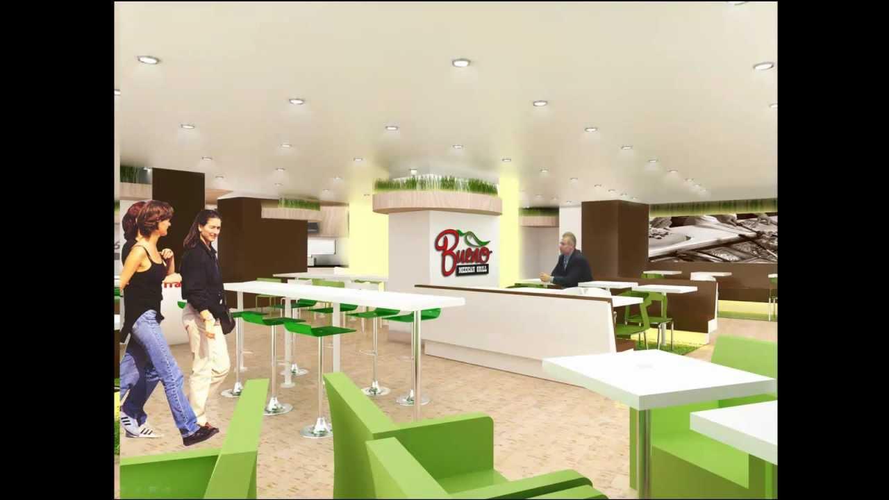 restaurant design - modern mexican grill - youtube