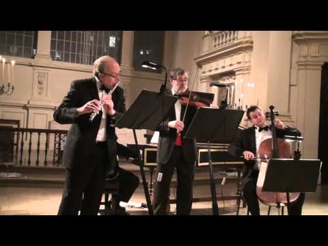 Handel Trio g minor 1st mov. played by William Bennett and Andrew Watkinson