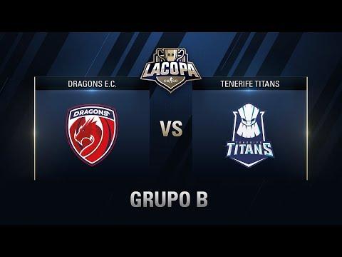 DRAGONS E.C. VS TENERIFE TITANS - GRUPO B - #CopaCSGOGrupos