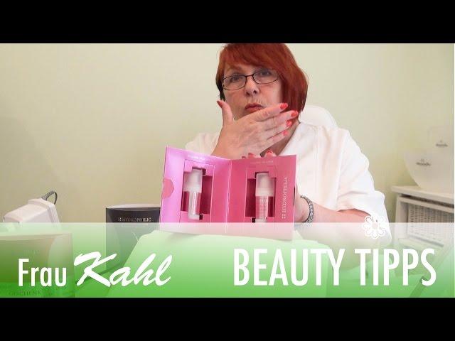 Hyaluron Säure und Creme Empfehlung Tipp für ein jüngeres Gesicht