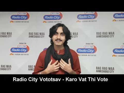 Aditya Gadhvi - Famous Gujarati Singer Supports Vototsav | Gujarat Elections 2017