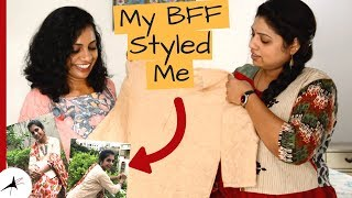Ameerpet Street Shopping | My BFF Styled Me In Traditional Look | Arpitharai