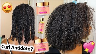 CURL ANTIDOTE IS BAE! 😍 |  NEW Tailored Beauty Golden Herbal Collection TYPE 4 NATURAL HAIR