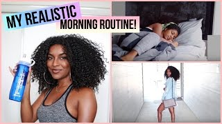 My Realistic Morning Routine 2017!   naturalneiicey
