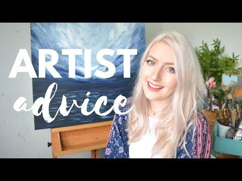 ARTIST ADVICE Pricing Artwork, Marketing & Art Supplies | Katie Jobling Art