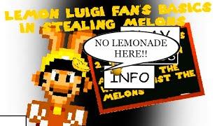LEMON LUIGI'S BASICS IS NOT MAKING LEMONADE HERE!! | Baldi's Basics in Education and Learning