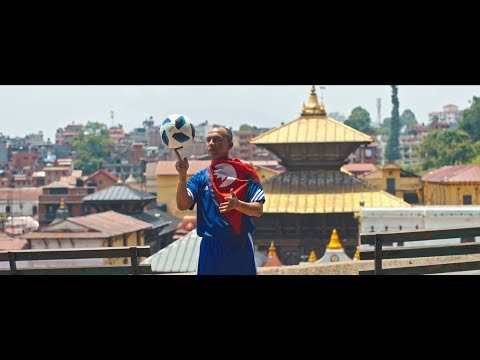 FootBall Ko MahaKumbha -First  Nepali WorldCup Song || Action Sports
