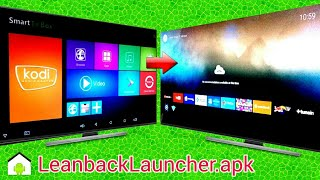 Leanback Launcher | Android TV Box | Amlogic