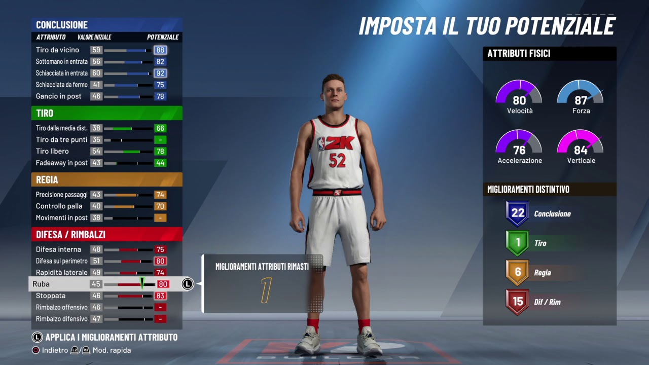 NBA 2K20: La Demo Build ala piccola penetratore difensore - YouTube