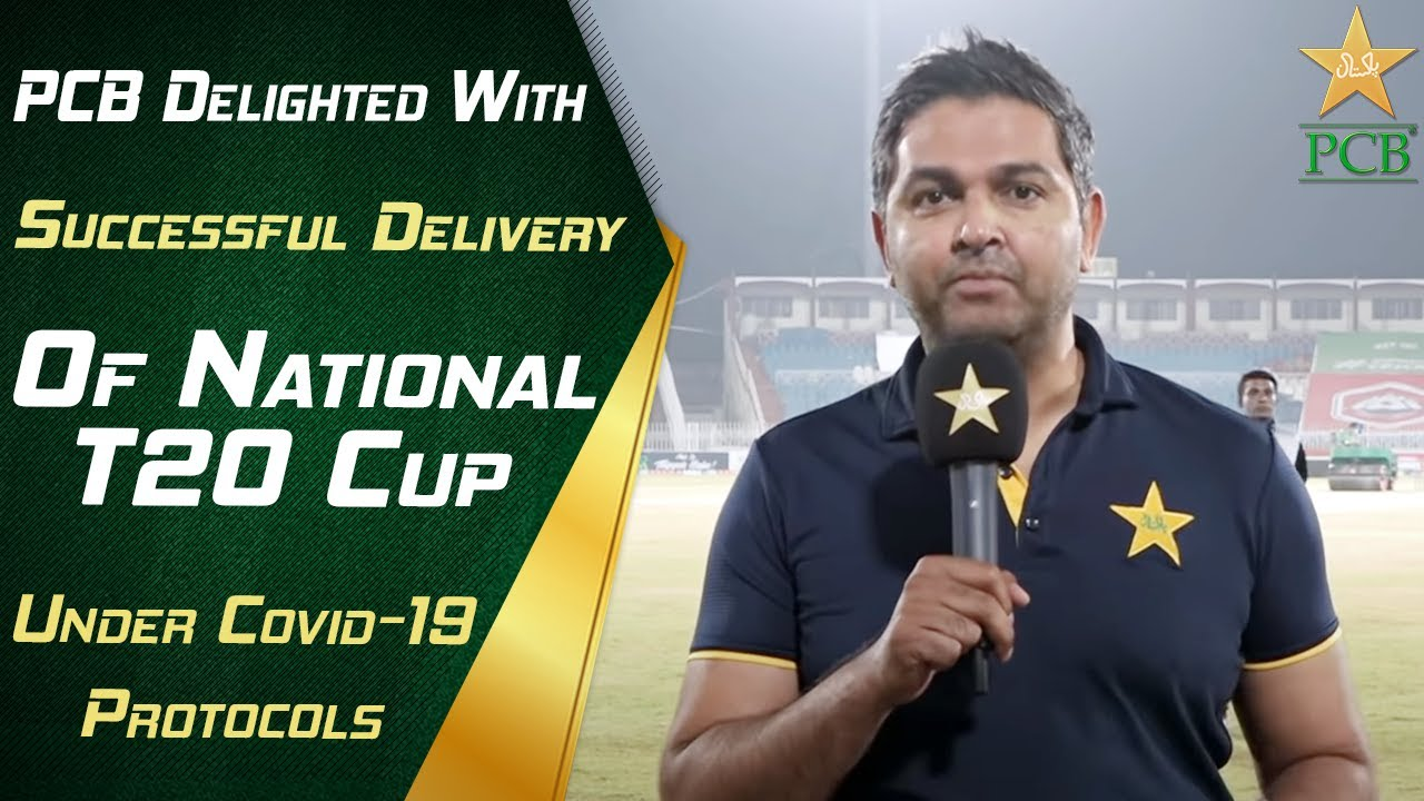 PCB Delighted With Successful Delivery Of National T20 Cup Under Covid-19 Protocols | PCB