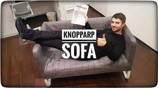 IKEA KNOPPARP sofa do pokoju dziecka - montaż instalacja instrukcja