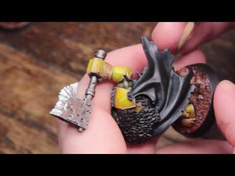 How to Wet Blend a Cloak - IronSkull's Boyz (Part 2)  -  Warhammer Underworlds Shadespire