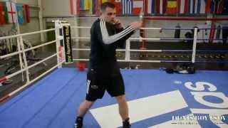 Тренировки с Денисом Бойцовым (прямые удары)