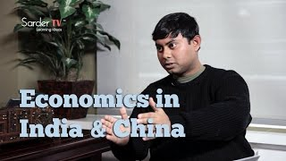 Is India in competition with China in terms of economics? by Hindol Sengupta