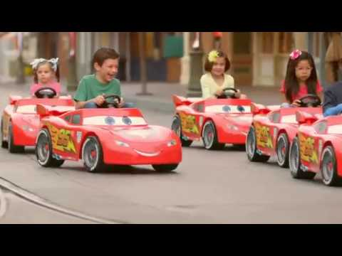 kids race power wheels to cars land