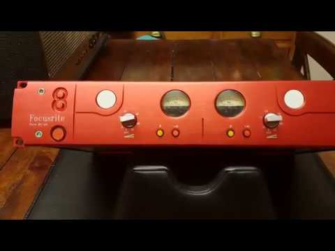 FOCUSRITE RED 8 STEREO MIC-PRE UP CLOSE VIDEO REVIEW AT ESSEX RECORDING STUDIOS