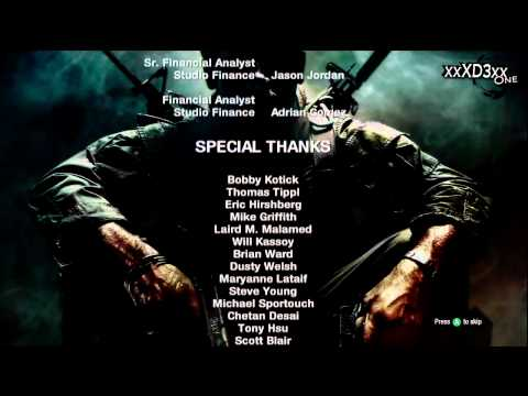 Call Of Duty Black Ops - Ending Credits & Final