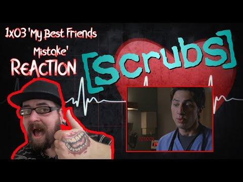 Scrubs: 1x03 'My Best Friend's Mistake' REACTION #scrubs #scrubsreaction #season1