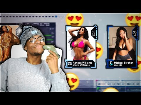 😍 The HOTTEST NFL WIVES Draft ! Madden 19 Themed Draft