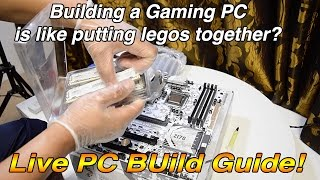 Video 7 Baby  Steps To Build a Gaming PC  Watch Live!! i7 6700k Asus Sabertooth Z170 S download MP3, 3GP, MP4, WEBM, AVI, FLV Juli 2018