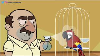 Armenian Dad Introduces His Parrot (Inspired by my real life dad)